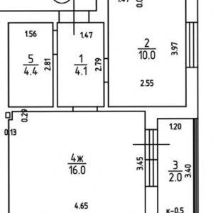Дом №2 (Безымянная, 21Б)